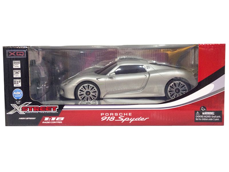 Toyandmodelstore Radio Controlled Car Porsche 918 Spider